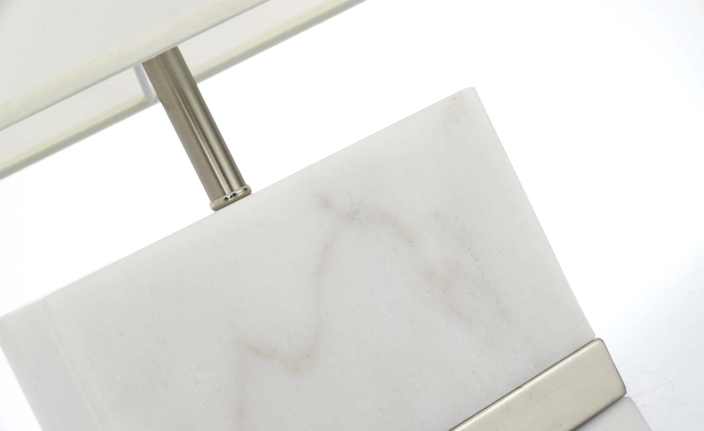 Abat jour in marmo bianco Elgira