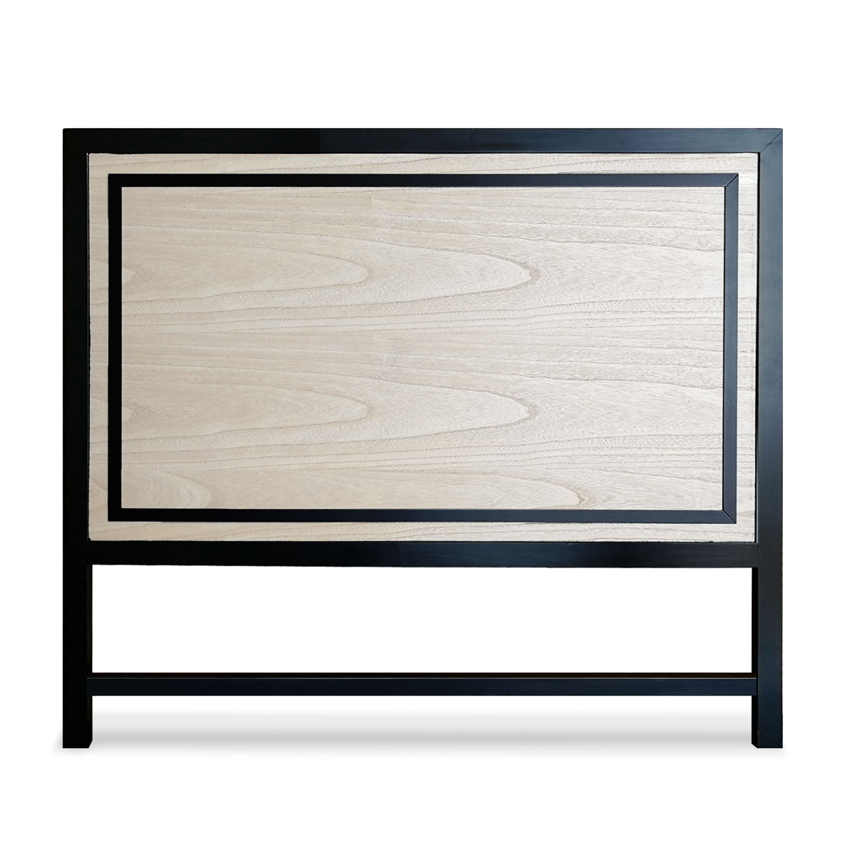 Tête de lit Framet 140cm Chêne et Noir