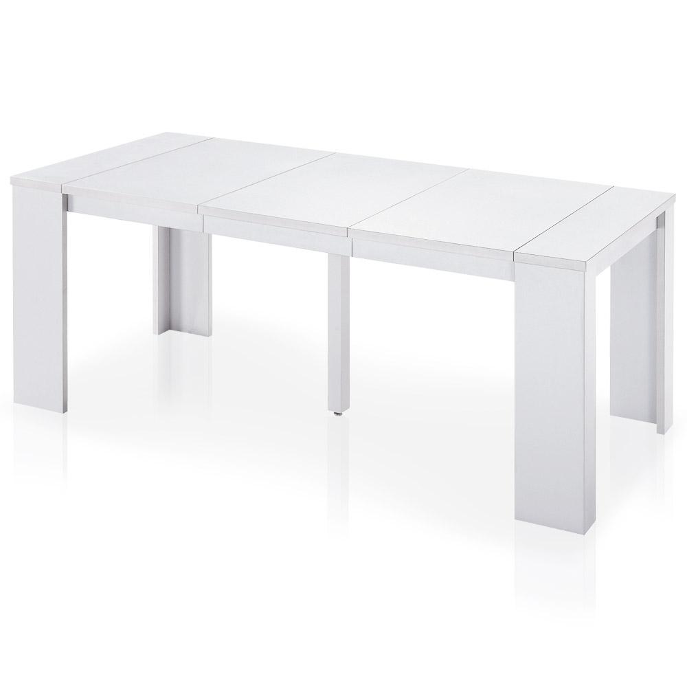 Tavolo/ Consolle allungabile Brookline bianca