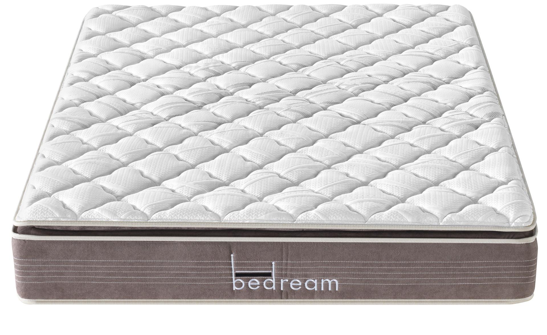Materasso con mini molle insacchettate e memory form Bedream Deluxe 180x200cm