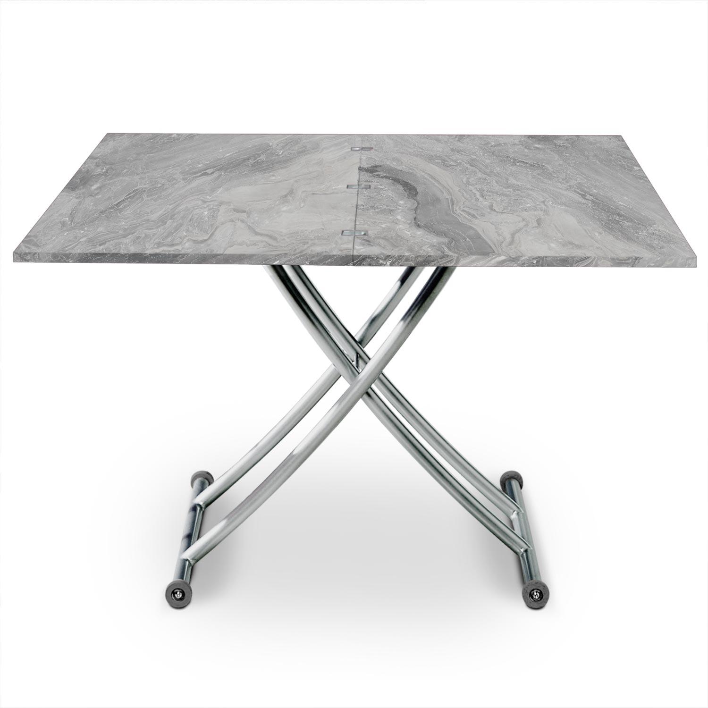 Tavolino Carrera effetto marmo