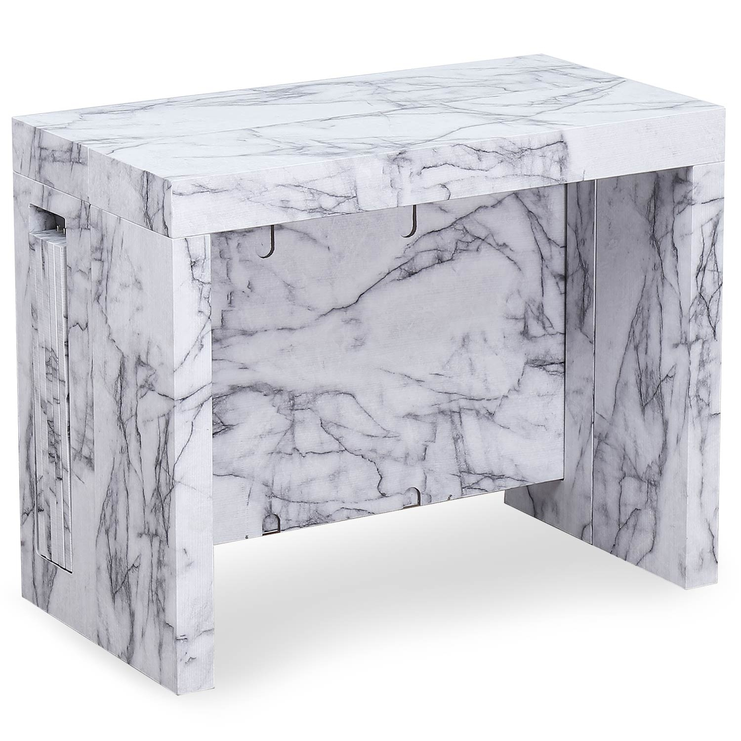 Table console extensible Chay Effet Marbre