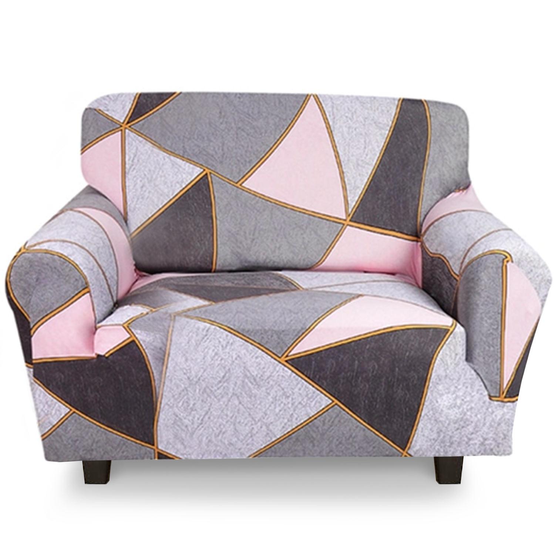 Housse de fauteuil extensible Decoprotect Géométrique 1 place Ulysse