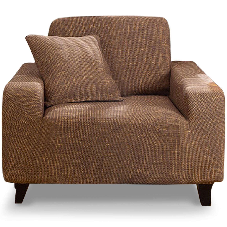 Housse de fauteuil extensible Decoprotect Motif 1 place Maxima