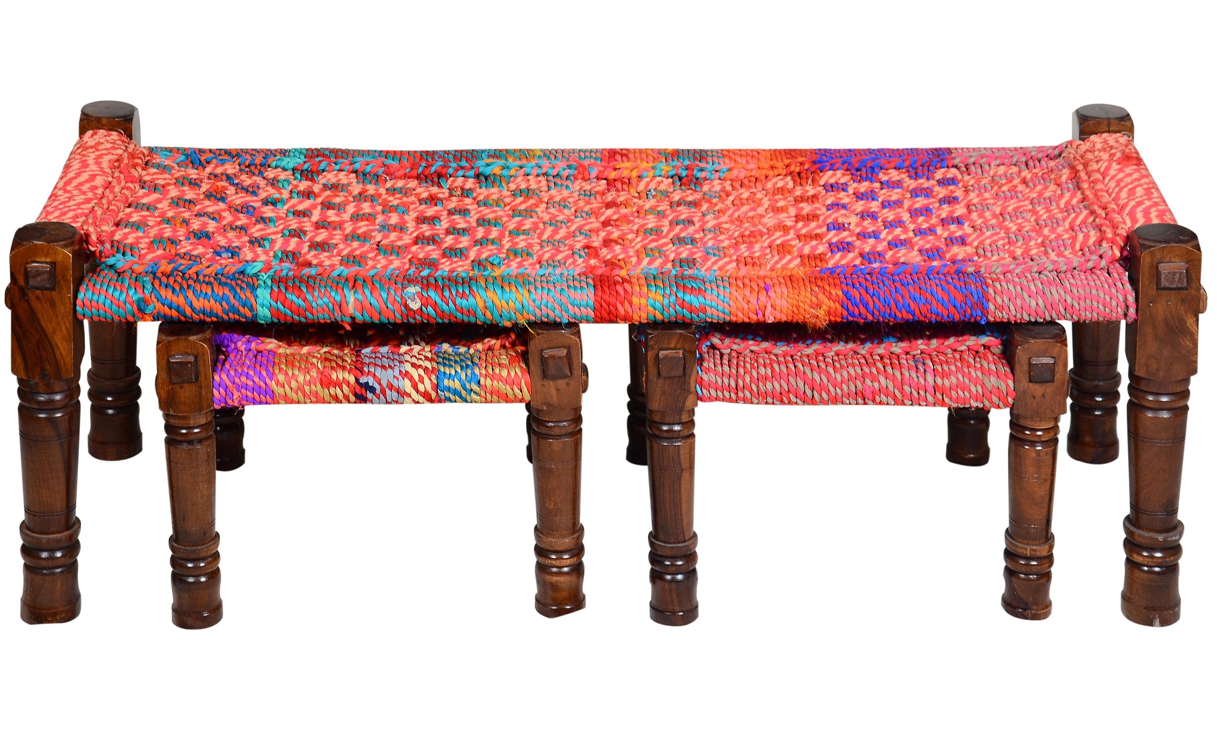 Panca Madura in tessuto Multicolore