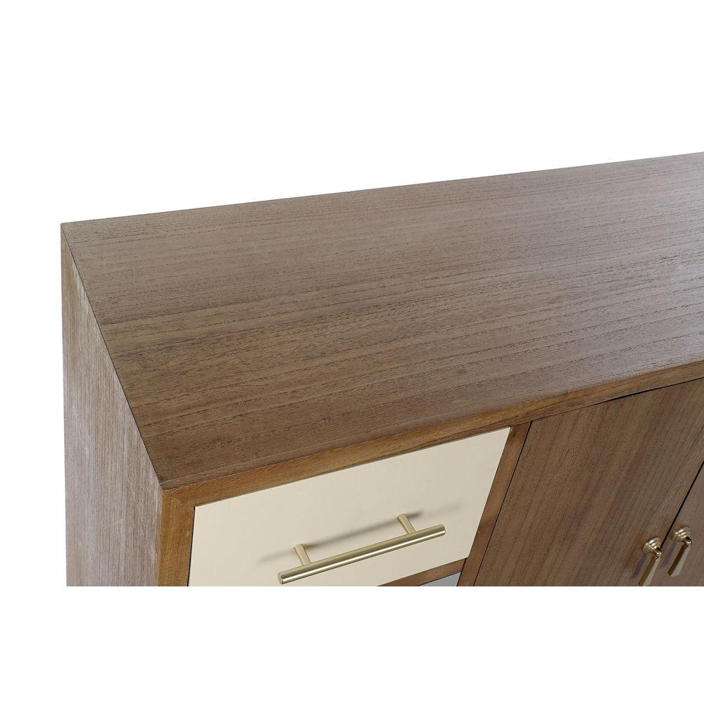 Mobile TV DKD Home Decor Metallo Legno di  paulownia (120 x 40 x 78.5 cm)