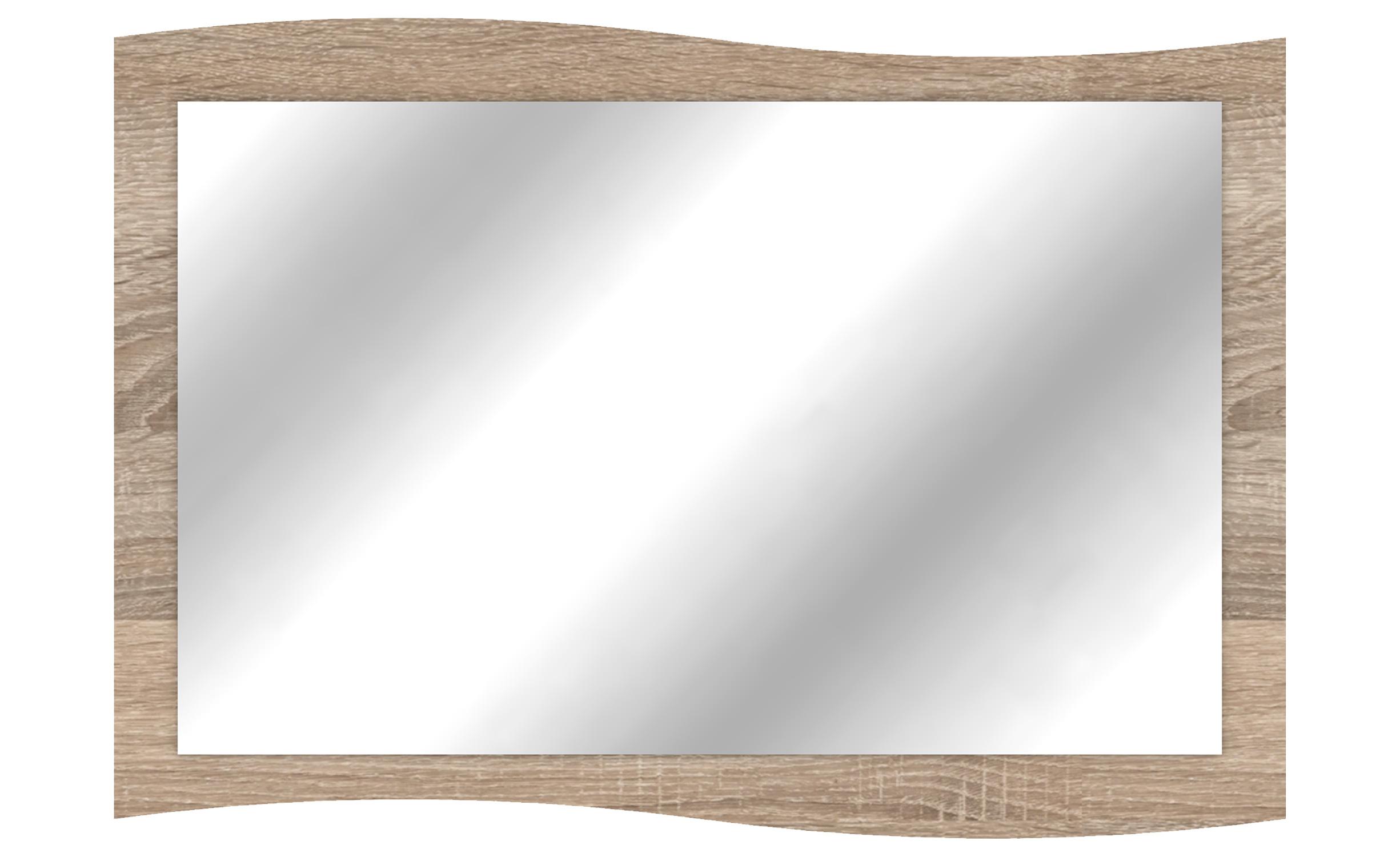 Miroir Genevaro 90x60cm Chêne clair