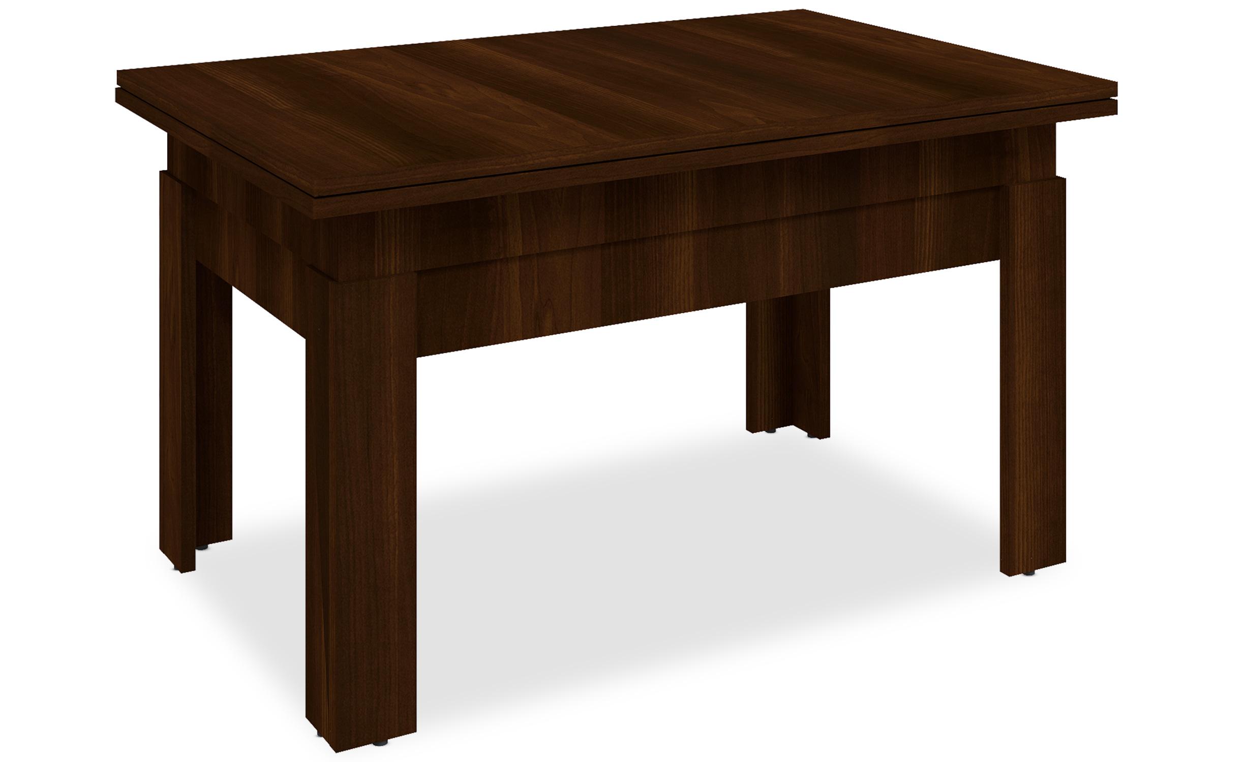Tavolino Modulabile Flytigo Legno Nocciola